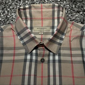 Burberry Nova Check Women's Button Down Size S